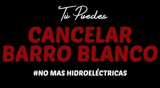 Cancelemos PH Barro Blanco