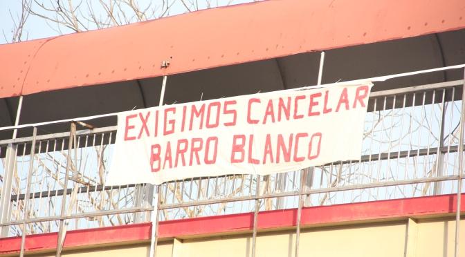 EXIGIMOS CANCELAR BARRO BLANCO