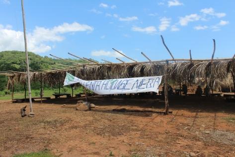 Iglesia Mama Tatda y sede principal del campamento del M-22