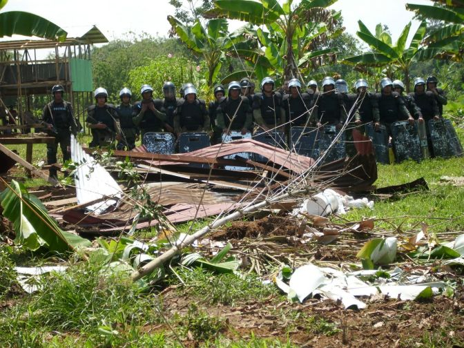 Conmemorando  Siete años  de resistencia en el Territorio Naso
