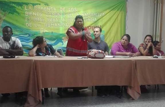 ENCUENTRO REGIONAL DE COMUNIDADES Y PUEBLOS INDIGENAS CONTRA LAS INDUSTRIAS EXTRACTIVAS