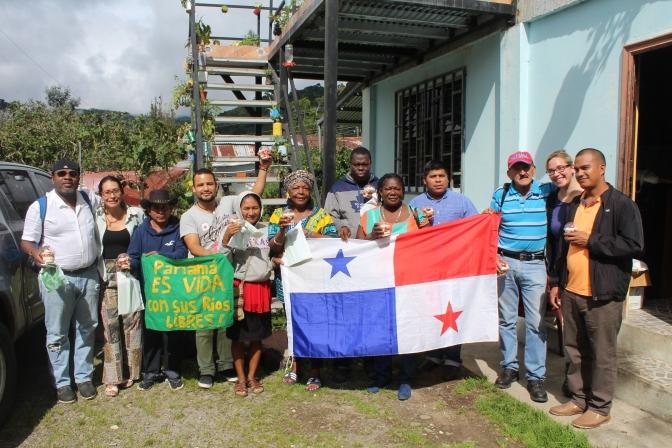 Intercambio de saberes entre los pueblos ancestrales de Honduras y Panamá (Ofraneh-Pueblo Pech-Copinh y la Red Nacional en Defensa del Agua de Panamá)