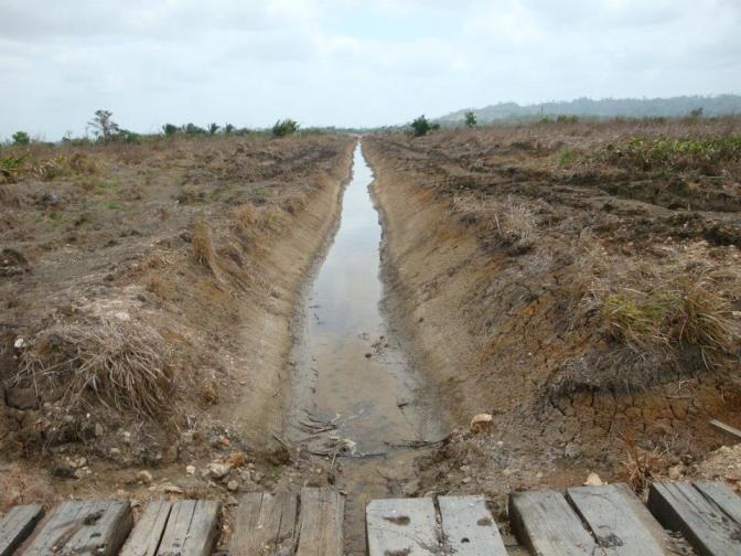 Destrucción de la Laguna Matusagaratí