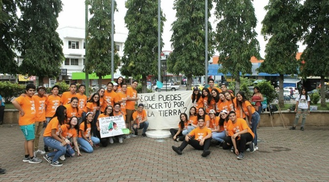 Acción ECOLÓGICA en solidaridad con BRASIL