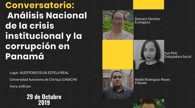 Análisis Nacional de la crisis institucional y la corrupción en Panamá