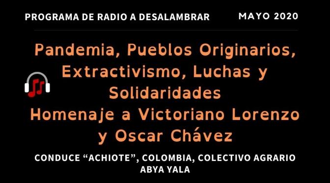 """Programa Radial """"A Desalambrar"""" 20 de Mayo 2020"""